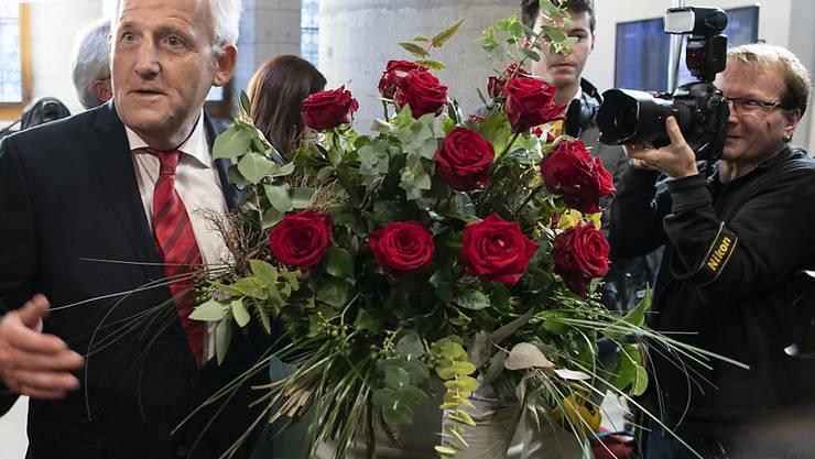 SP-Ständerat Hans Stöckli dürfte für den zweiten Wahlgang als Bisheriger und Bestgewählter gesetzt sein.