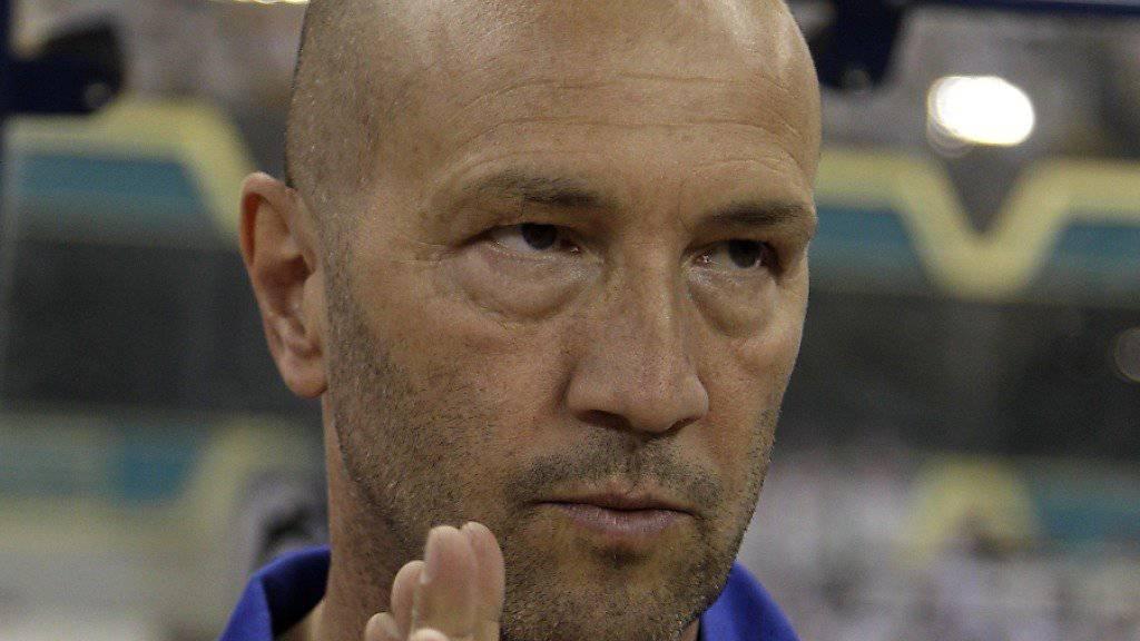 Walter Zenga ist der neue Crotone-Trainer in der Serie A