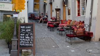 Die «Nouba Lounge» ist eine von inzwischen vier Shisha-Bars in Baden.