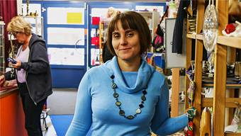 Ruth Nondjock ist seit 20 Jahren Inhaberin des Brockenhauses «Brockoli».DKA