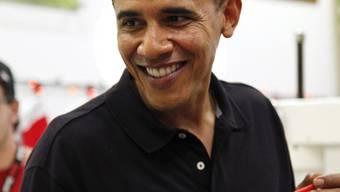 Obama geniesst die Ferien in seiner Heimat Hawaii