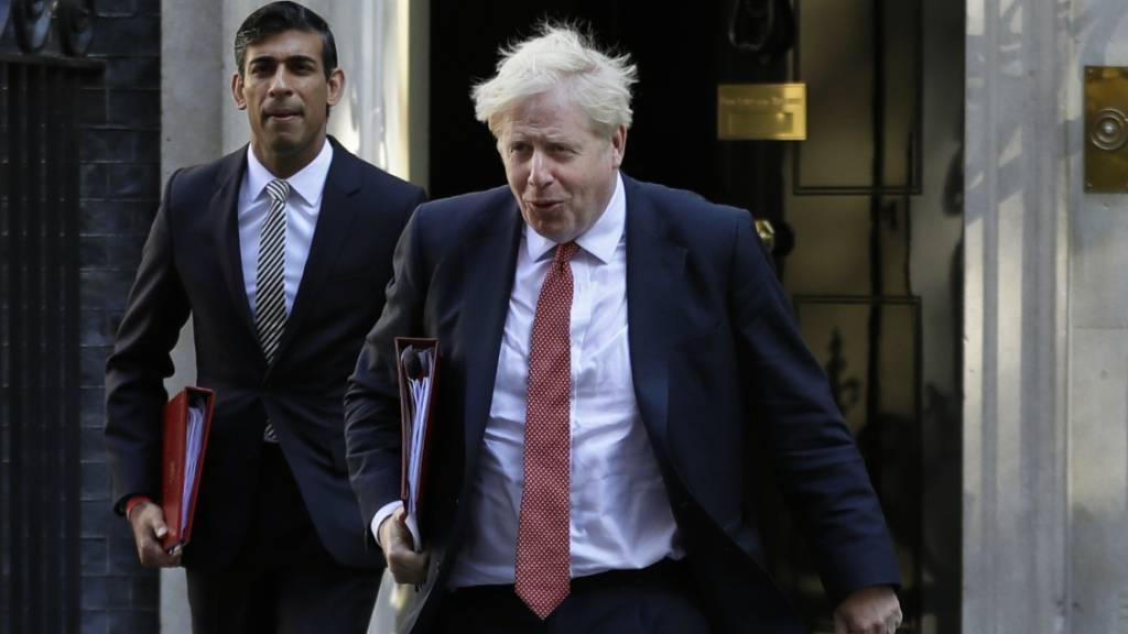Kehrtwende in London: Johnson will nun doch in Selbstisolation gehen