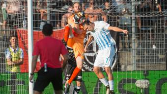 Fand gegen Luganos Abwehr kein Durchkommen: FCZ-Flügel Adrian Winter