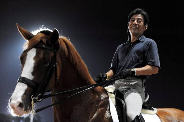 Hiroshi Hoketsu im Porträt.