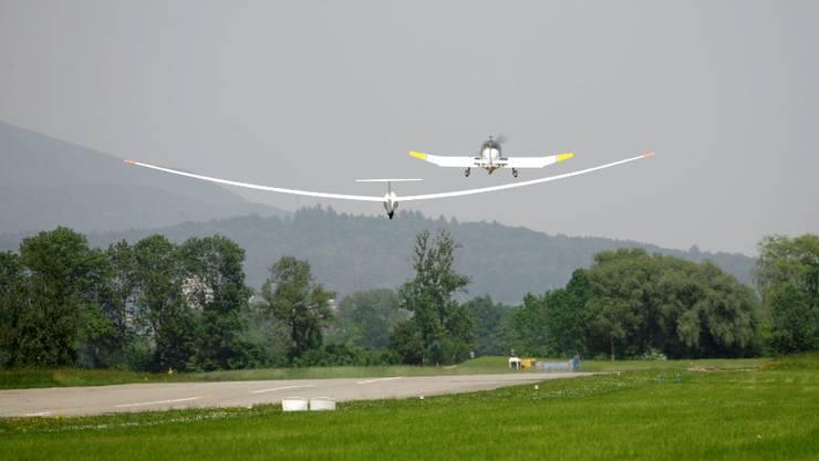 Mehrere hundert Kilometer weit fliegt die Segelfluggruppe Solothurn ab dem Flughafen Grenchen.