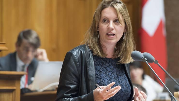 Spektakulärer Wechsel in der Schweizer Politik: Chantal Galladé ist neu Mitglied der GLP.