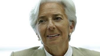IWF-Chefin Christine Lagarde bietet den Opfern des tiefen Ölpreises die Hilfe des Währungsfonds an. (Archiv)