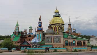 Soll Toleranz ausstrahlen: Der Tempel aller Religionen in der Nähe von Kasan. Fotos: Markus Brütsch