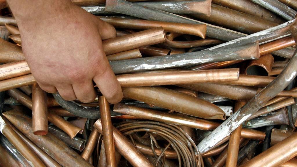 Kupferpreis steigt auf höchsten Stand seit zehn Jahren. (Archiv)