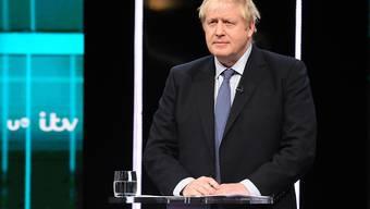 Der britische Premier Boris Johnson liegt laut einer neuen Umfrage in der Wählergunst der Briten obenauf.