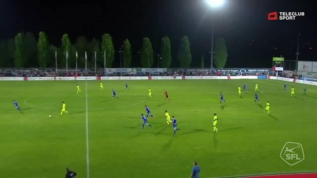 Challenge League, 2017/18, 32. Runde, FC Wohlen - FC Aarau, 1:2 Gianluca Frontino