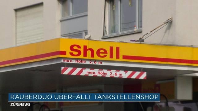 Zürcher Tankstelle überfallen