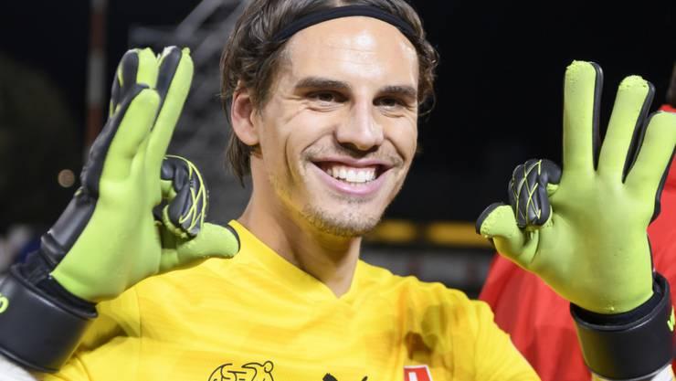 Yann Sommer freut sich über die Qualifikation für die EM 2020
