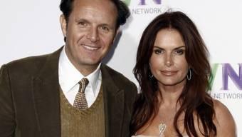 """Grosse Ehre für Roma Downey (rechts): Die Schauspielerin und Produzentin darf auf dem """"Walk of Fame"""" einen eigenen Stern enthüllen - Ehemann Mark Burnett (links) wird die Rede halten. (Archivbild)"""