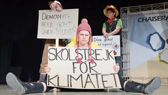Neben Kaiseraugster Themen fehlen an der diesjährigen «Fotzelschnitte» auch Greta und die Klima-Demos nicht.
