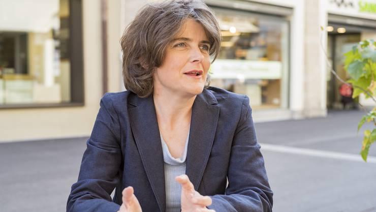 Die Erhöhung der Prämienverbilligungen seien bloss ein Zückerli, kritisiert Kathrin Schweizer.
