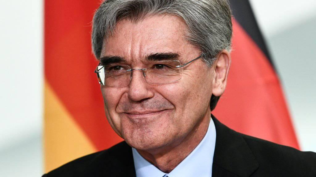 Siemens-Chef Joe Kaeser will seine Öl- und Gas-Sparte ausgliedern und das gesamte Geschäft mit der Energiebranche bis September 2020 an die Börse bringen. (Archiv)