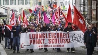1. Mai-Umzug Solothurn