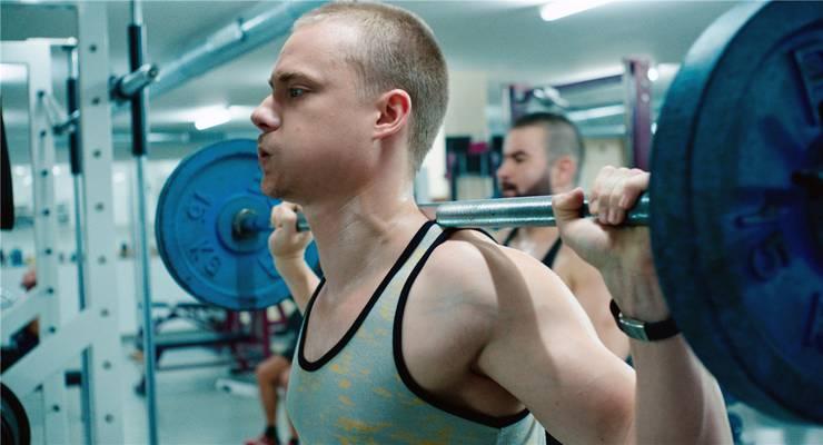 Sven Schelker als gewalttätiger Bodybuilder: «Goliath» ist der einzige Schweizer Film im internationalen Wettbewerb von Locarno. Filmcoopi
