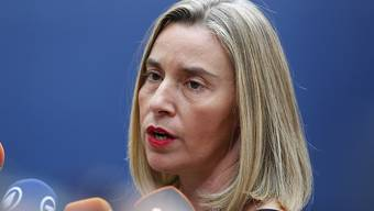 """Die EU-Aussenbeauftragte Federica Mogherini hat Saudi-Arabien und den Iran aufgefordert, nach einem """"Minimum von Konsens"""" suchen, um die Grundlage für Frieden zu stiften. (Archivbild)"""