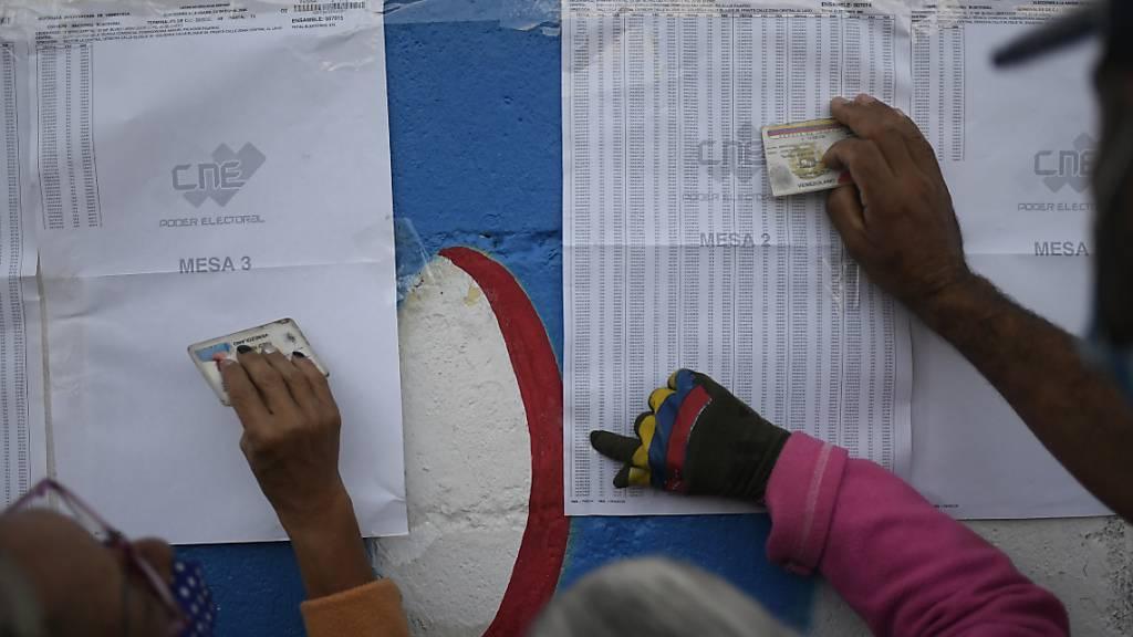 Venezolaner wählen neues Parlament
