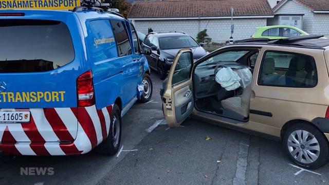 Zwei Verletzte nach Unfall in Wattenwil