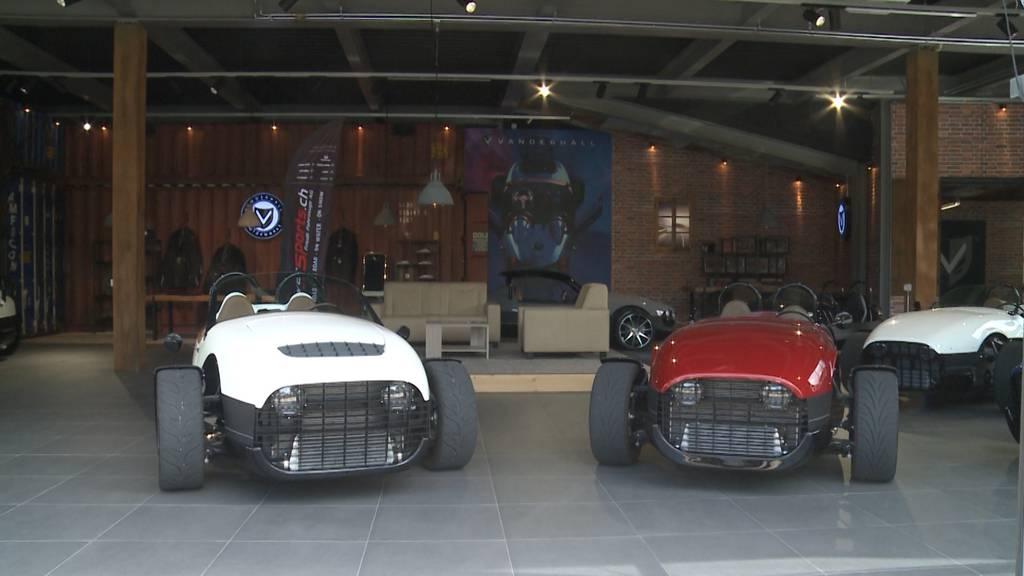 Aussergewöhnlich: Ein Aargauer verkauft futuristisches Fahrzeug