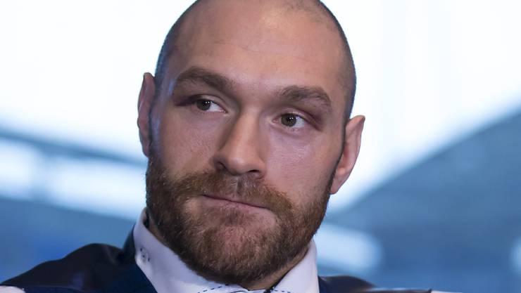 Tyson Fury hat sein Leben wieder im Griff und plant sein Comeback im Mai