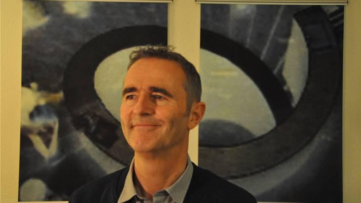 Mehr als 15 Jahre war Stephan Athanas für die FHNW-Bigband zuständig. zvg