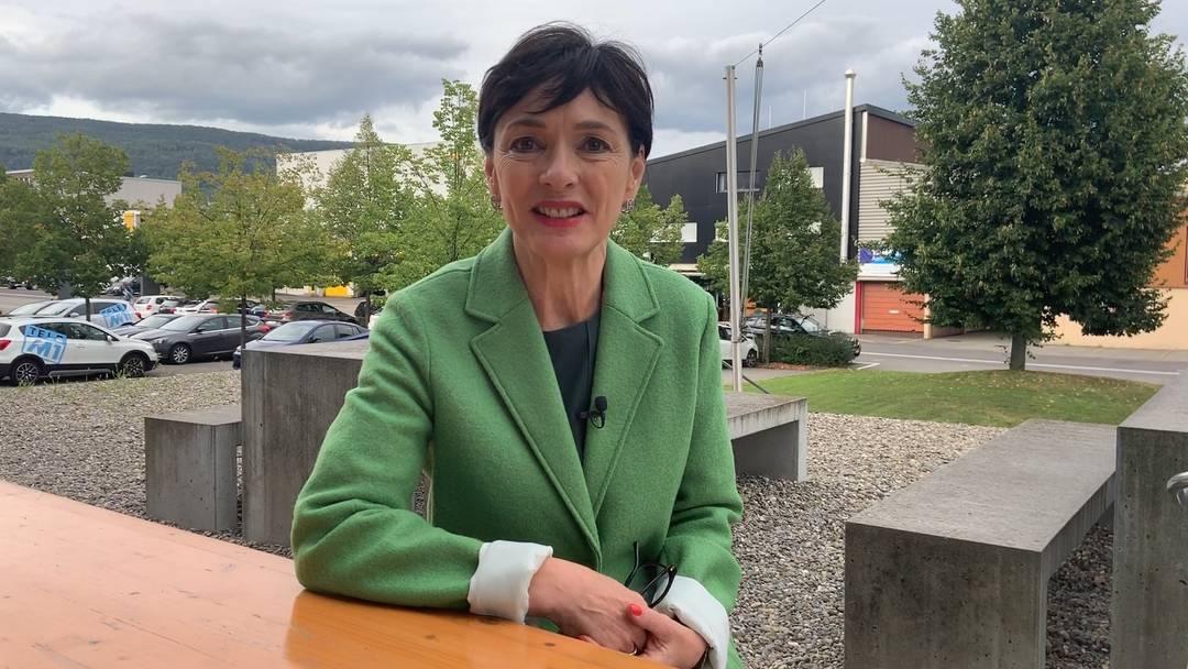 «Standort Aargau soll die Bedeutung haben, die ihm zusteht»: Drei Fragen an Ständeratskandidatin Marianne Binder