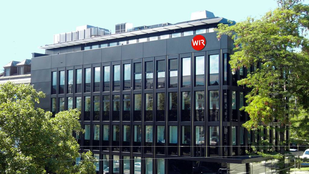 Der Hauptsitz der Bank WIR in Basel.