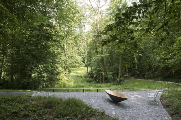 Im neuen Grabfeld Parkwald wird nur die Asche vergraben.