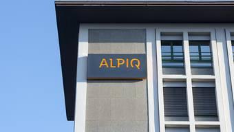 Das Logo der Firma Alpiq (Archivbild).