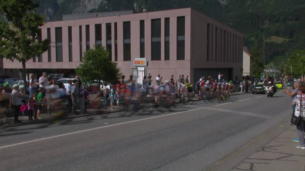 Tour de Suisse: Keine Fans bei Halt in Frauenfeld