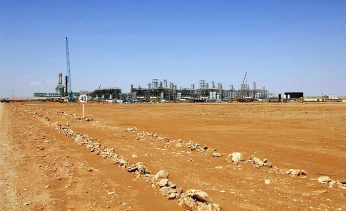 Auf einem Gasfeld in der Nähe der algerischen Stadt In Amenas haben Islamisten mehrere Ausländer gekidnapped.