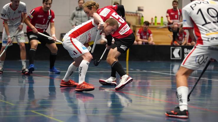 Tim Kurt (15), Basel beim Anspiel