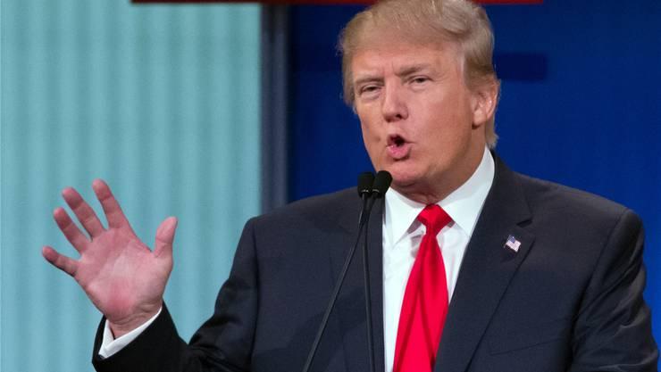 «Amerika soll wieder grossartig werden» – Donald Trump.
