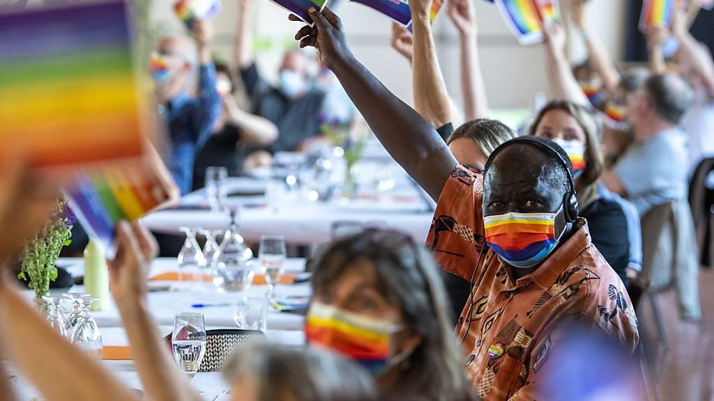 Einstimmig: Grüne fassen Ja-Parole zur «Ehe für alle»