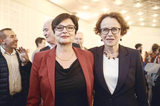 Die alte und die neue SP-Ständerätin: Anita Fetz (links) und Eva Herzog