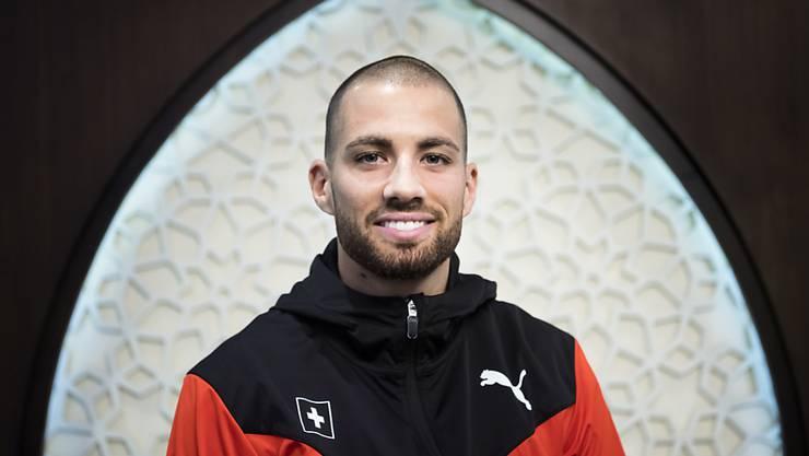 Kariem Hussein blickt dem Wettkampftag zuversichtlich entgegen.