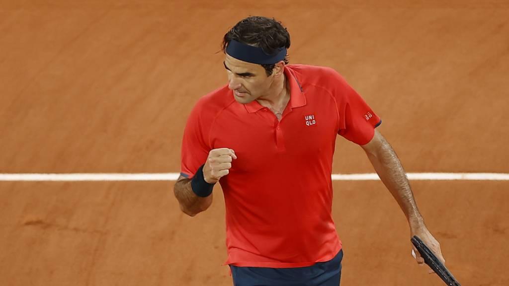 Federer nach hartem Kampf im Achtelfinal
