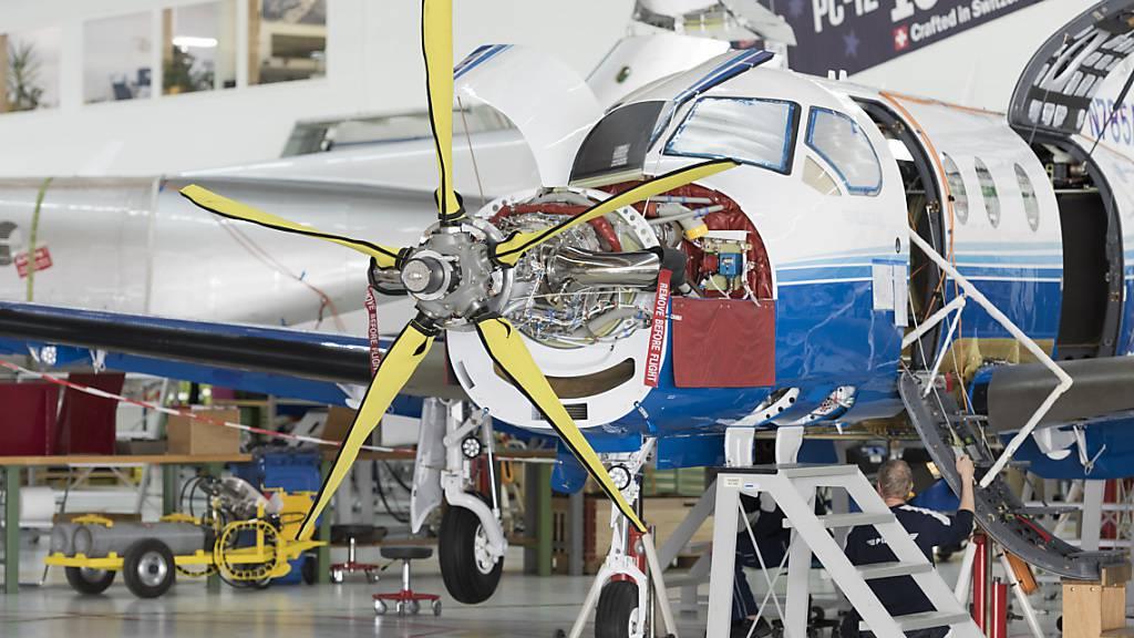 Ruag Aerostructures liefert weiterhin Teile für Turboprop-Flugzeuge von Pilatus (Archivbild)