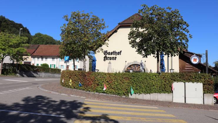 Die Krone ist die einzige verbleibende Dorfbeiz in Rietheim