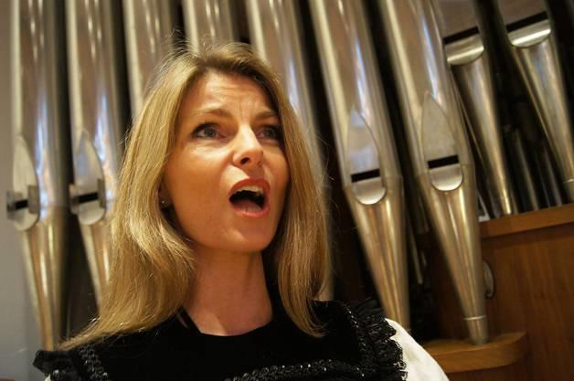 Jodlerin Franziska Wigger aus Bueron LU.