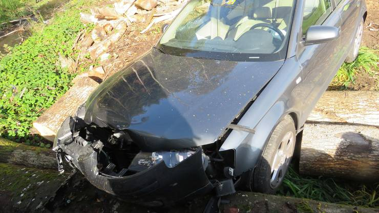 In einem grauen Audi A3 fuhr der 63-jährige Mann am Montag, 5. Oktober 2015, kurz nach elf Uhr auf der Sägetstrasse von Rothrist in Richtung Strengelbach.