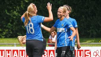 Die Frauen vom FC Schlieren hatten Grund zum Jubeln. (Archivbild)