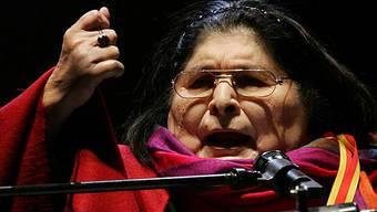 Die argentinische Sängerin Mercedes Sosa (Archiv)
