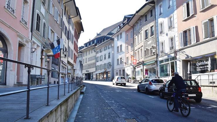 Für die IG Aargauer Altstädte – hier die Hauptstrasse in Brugg – ist klar: Die Zukunft der Altstädte liegt in der Vielfalt und in der koordinierten Entwicklung.