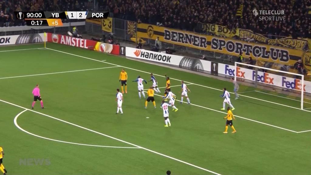 YB: Niederlage im Heimspiel gegen FC Porto