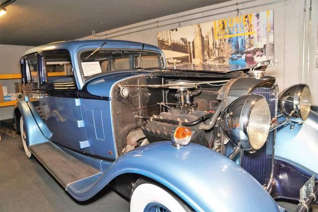Der Lincoln Town KA Sedan aus dem Jahr 1932 hat 127 PS und eine 3-Gang Handschaltung.